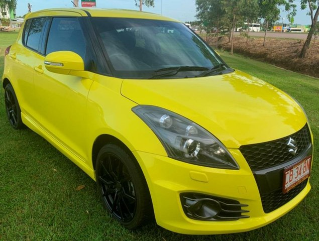Used Suzuki Swift FZ MY14 Sport, 2014 Suzuki Swift FZ MY14 Sport Yellow 6 Speed Manual Hatchback