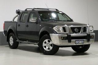 2007 Nissan Navara D40 ST-X (4x4) Grey 5 Speed Automatic Dual Cab Pick-up.