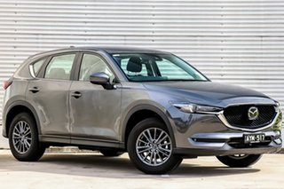 2018 Mazda CX-5 KF4WLA Maxx SKYACTIV-Drive i-ACTIV AWD Sport Machine Grey 6 Speed Sports Automatic.
