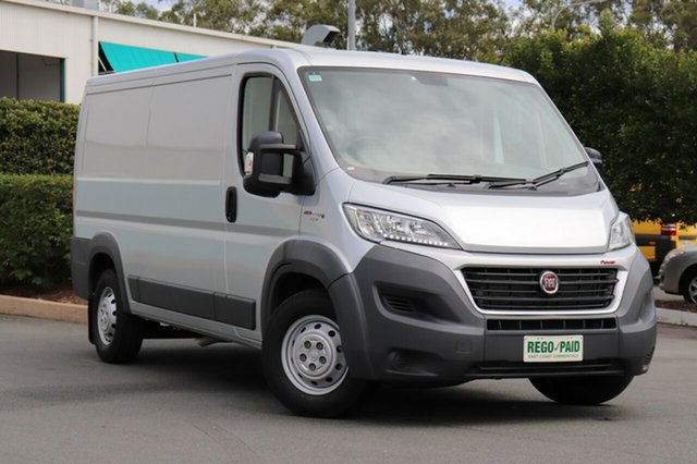 Demo Fiat Ducato Series 6 (MY17) MWB/Low, 2016 Fiat Ducato Series 6 (MY17) MWB/Low Silver 6 Speed Manual Van