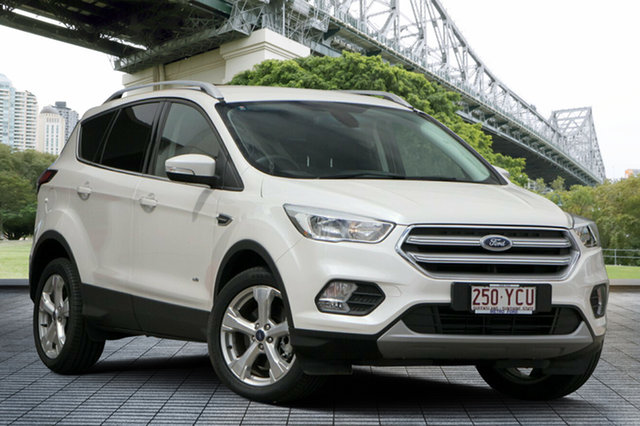 Used Ford Escape ZG 2018.00MY Trend AWD, 2017 Ford Escape ZG 2018.00MY Trend AWD White 6 Speed Sports Automatic Wagon
