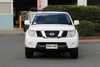 2012 Nissan Navara D40 S6 MY12 RX 4x2 White 5 Speed Automatic Utility.
