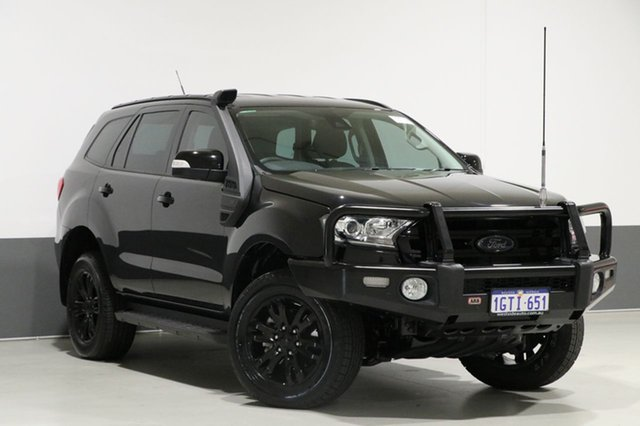 Used Ford Everest UA Trend, 2016 Ford Everest UA Trend Black 6 Speed Automatic Wagon