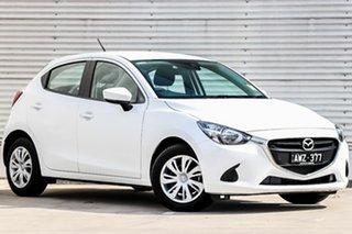 2018 Mazda 2 DJ2HAA Neo SKYACTIV-Drive Snowflake White Pearl 6 Speed Sports Automatic Hatchback.