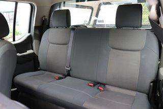 2012 Nissan Navara D40 S6 MY12 RX 4x2 White 5 Speed Automatic Utility