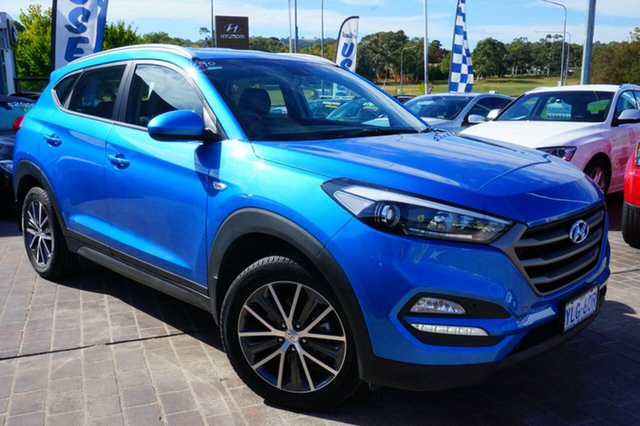 Used Hyundai Tucson TL Active X 2WD, 2016 Hyundai Tucson TL Active X 2WD Blue 6 Speed Sports Automatic Wagon