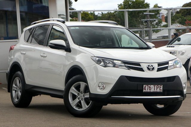 Used Toyota RAV4 ZSA42R GXL 2WD, 2013 Toyota RAV4 ZSA42R GXL 2WD White 6 Speed Manual Wagon