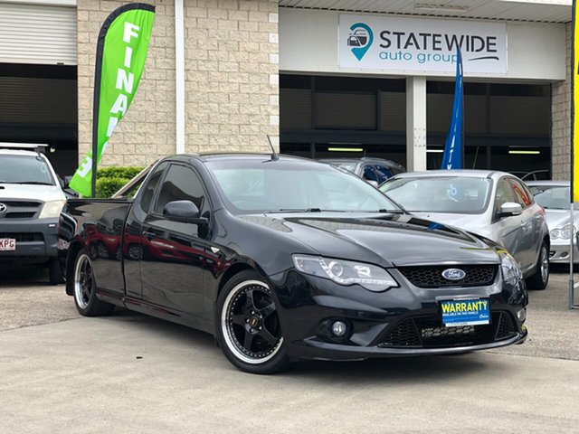 Used Ford Falcon FG MkII XR6 Ute Super Cab, 2011 Ford Falcon FG MkII XR6 Ute Super Cab Black 6 Speed Manual Utility