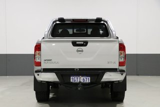 2015 Nissan Navara NP300 D23 ST-X (4x4) Silver 6 Speed Manual King Cab Utility