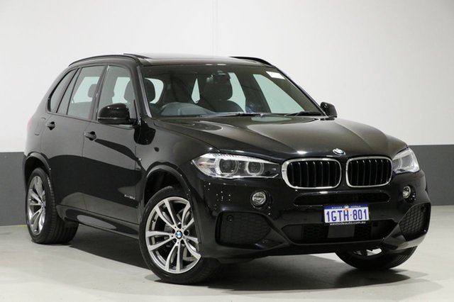 Used BMW X5 F15 MY18 xDrive 30d M Sport, 2018 BMW X5 F15 MY18 xDrive 30d M Sport Black 8 Speed Automatic Wagon