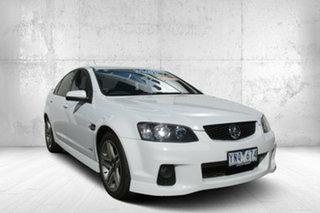 2011 Holden Commodore VE II MY12 SV6 White 6 Speed Sports Automatic Sedan.