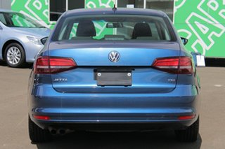 2016 Volkswagen Jetta 1B MY16 118TSI DSG Trendline Blue 7 Speed Sports Automatic Dual Clutch Sedan