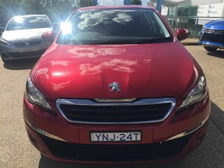 2016 Peugeot 308 T9 Active Red 6 Speed Automatic Hatchback