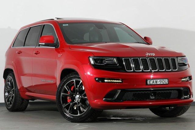 Used Jeep Grand Cherokee WK MY15 SRT, 2015 Jeep Grand Cherokee WK MY15 SRT Red 8 Speed Sports Automatic SUV