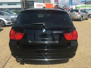 2012 BMW 3 Series E91 MY11 320d Touring Steptronic Lifestyle Black 6 Speed Sports Automatic Wagon