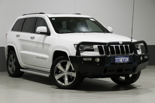 Used Jeep Grand Cherokee WK MY14 Overland (4x4), 2014 Jeep Grand Cherokee WK MY14 Overland (4x4) White 8 Speed Automatic Wagon