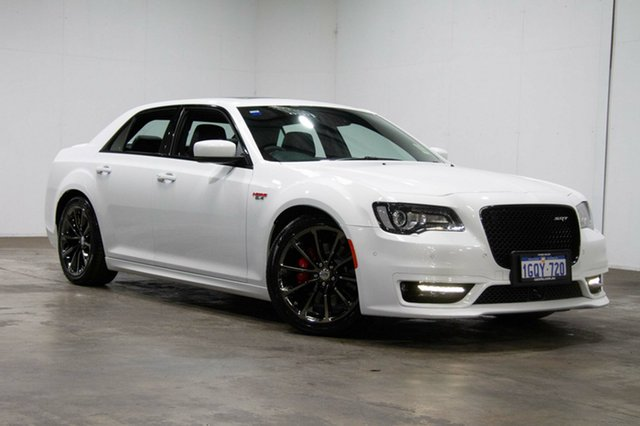 Used Chrysler 300 LX MY18 SRT Hyperblack, 2018 Chrysler 300 LX MY18 SRT Hyperblack White 8 Speed Sports Automatic Sedan