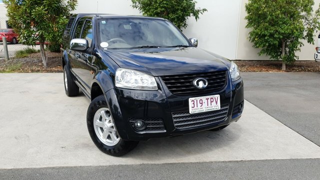 Used Great Wall V200 K2 MY14 4x2, 2014 Great Wall V200 K2 MY14 4x2 Black 6 Speed Manual Utility