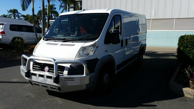 Used Fiat Ducato Series II MY12 Low Roof MWB MTA, 2012 Fiat Ducato Series II MY12 Low Roof MWB MTA White 6 Speed Sports Automatic Single Clutch Van