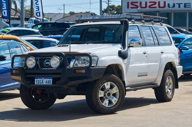 Used Nissan Patrol GU 6 MY08 ST, 2009 Nissan Patrol GU 6 MY08 ST White 5 Speed Manual Wagon