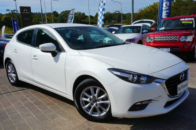 Used Mazda 3 BM5476 Maxx SKYACTIV-MT, 2016 Mazda 3 BM5476 Maxx SKYACTIV-MT White 6 Speed Manual Hatchback