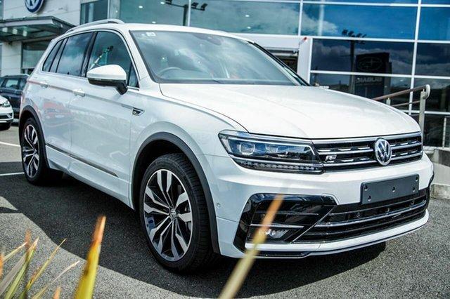 Demo Volkswagen Tiguan 5N MY19 162TSI DSG 4MOTION Highline, 2018 Volkswagen Tiguan 5N MY19 162TSI DSG 4MOTION Highline Pure White 7 Speed
