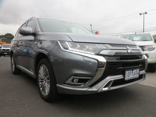 2018 Mitsubishi Outlander ZL MY19 Exceed (Hybrid) White 1 Speed Automatic Wagon.