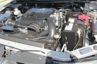 2014 Mitsubishi Triton MN MY15 GLX Double Cab Silver 4 Speed Sports Automatic Utility