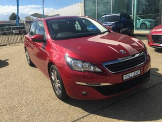 2016 Peugeot 308 T9 Active Red 6 Speed Automatic Hatchback.