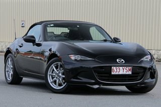 2015 Mazda MX-5 ND SKYACTIV-Drive Black 6 Speed Sports Automatic Roadster
