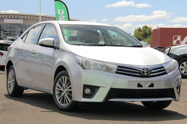 Used Toyota Corolla ZRE172R SX S-CVT, 2016 Toyota Corolla ZRE172R SX S-CVT Silver 7 Speed Constant Variable Sedan