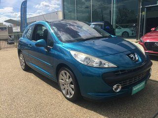 2007 Peugeot 207 A7 GT Blue 5 Speed Manual Hatchback.