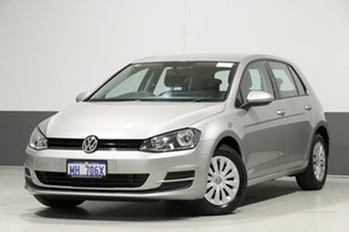 2015 Volkswagen Golf AU MY15 90 TSI Silver 7 Speed Auto Direct Shift Hatchback.