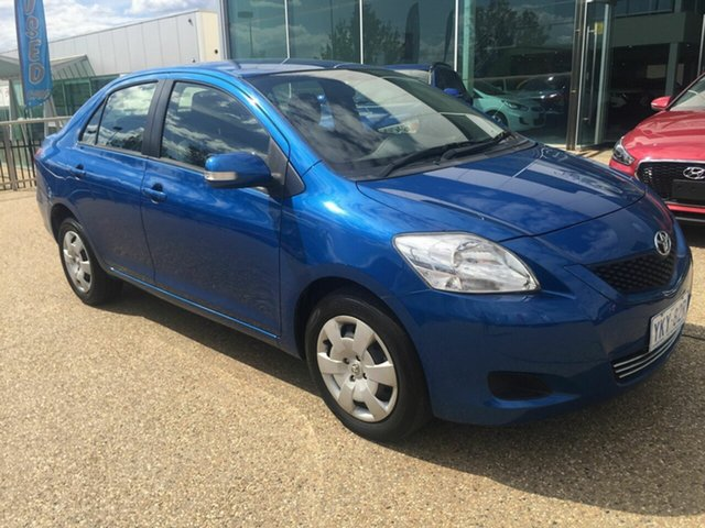 Used Toyota Yaris NCP93R MY11 YRS, 2012 Toyota Yaris NCP93R MY11 YRS Blue 4 Speed Automatic Sedan