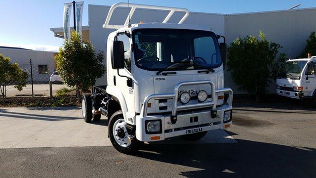 Used Isuzu FSS 550 FH , 2013 Isuzu FSS 550 FH White Cab Chassis 5.2l 4WD