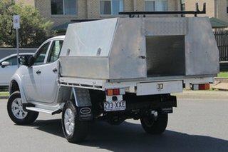 2014 Mitsubishi Triton MN MY15 GLX Double Cab Silver 4 Speed Sports Automatic Utility.