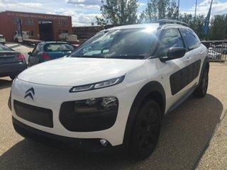 2017 Citroen C4 Cactus E3 MY18 Exclusive White 6 Speed Sports Automatic Wagon