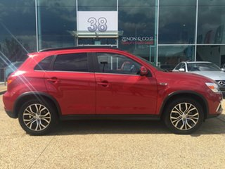 2017 Mitsubishi ASX XC MY18 LS 2WD Red 6 Speed Constant Variable Wagon.