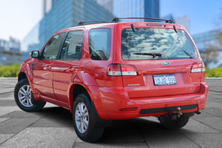 2010 Ford Escape ZD Red/Black 4 Speed Automatic Wagon.