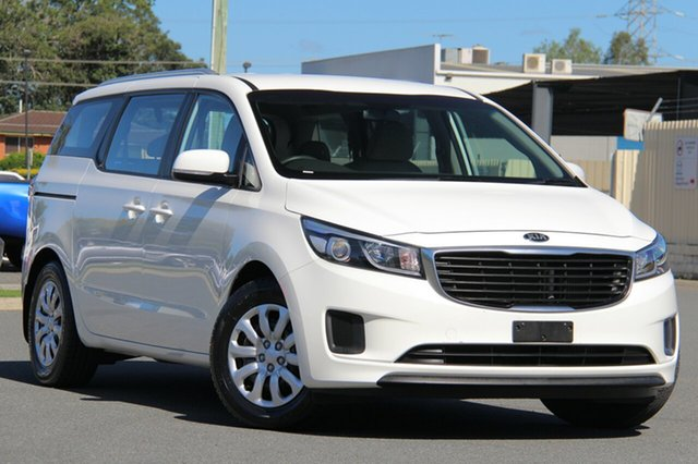Used Kia Carnival YP MY16 S, 2015 Kia Carnival YP MY16 S White 6 Speed Sports Automatic Wagon