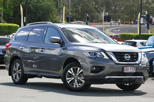 Demo Nissan Pathfinder R52 Series II MY17 ST-L X-tronic 2WD, 2018 Nissan Pathfinder R52 Series II MY17 ST-L X-tronic 2WD Gun Metallic 1 Speed Constant Variable