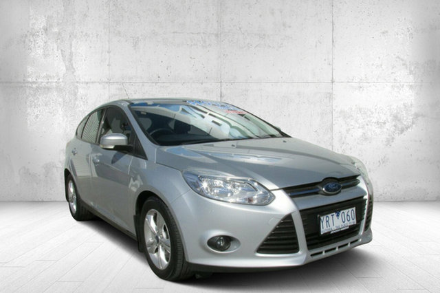 Used Ford Focus LW Trend PwrShift, 2011 Ford Focus LW Trend PwrShift Silver 6 Speed Sports Automatic Dual Clutch Hatchback