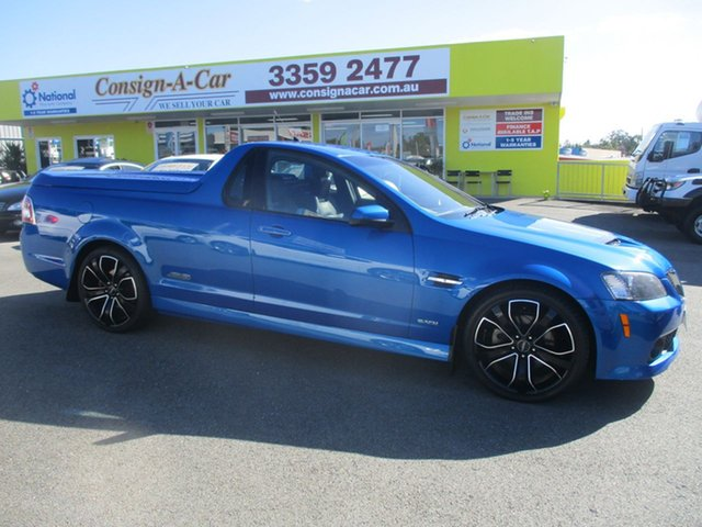 Used Holden Ute VE MY10 SS V Special Edition, 2009 Holden Ute VE MY10 SS V Special Edition Blue 6 Speed Sports Automatic Utility