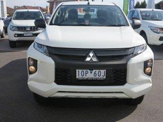 2019 Mitsubishi Triton MR MY19 GLX White 6 Speed Automatic Double Cab Pickup.