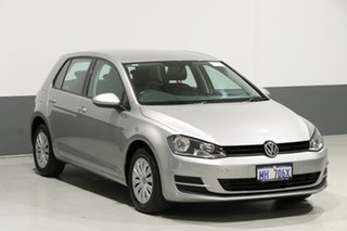 2015 Volkswagen Golf AU MY15 90 TSI Silver 7 Speed Auto Direct Shift Hatchback