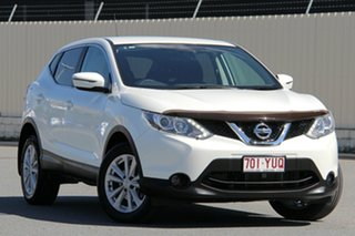 2016 Nissan Qashqai J11 TS White 1 Speed Constant Variable Wagon