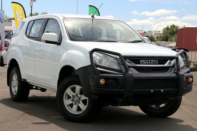 Used Isuzu MU-X MY14 LS-M Rev-Tronic, 2014 Isuzu MU-X MY14 LS-M Rev-Tronic White 5 Speed Sports Automatic Wagon