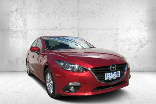 Used Mazda 3 BM5278 Touring SKYACTIV-Drive, 2015 Mazda 3 BM5278 Touring SKYACTIV-Drive Soul Red 6 Speed Sports Automatic Sedan