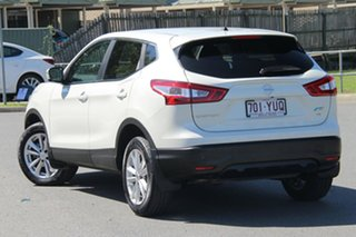 2016 Nissan Qashqai J11 TS White 1 Speed Constant Variable Wagon.