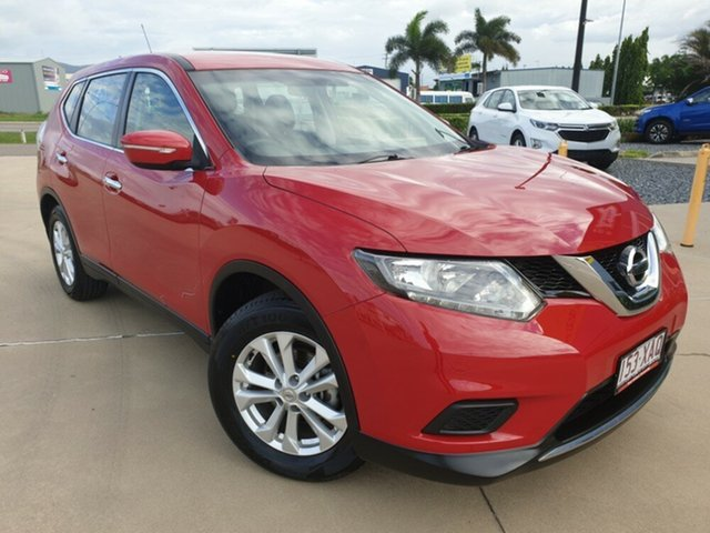 Used Nissan X-Trail T32 ST X-tronic 2WD, 2017 Nissan X-Trail T32 ST X-tronic 2WD Red 7 Speed Constant Variable Wagon